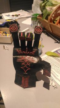 Zant's hand (not finished yet)  by Deviljoew