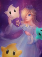 Rosalina and Luma by Lucia-Conchita