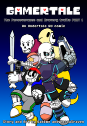 Gamertale: perseverance and bravery traits 1 COVER by zeroa5raven