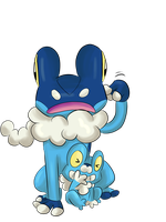 Froakie And Frogadier