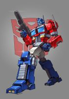 Another Optimus Prime by Novanim