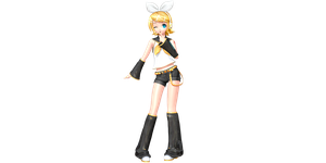 Project Diva Future Tone Default Rin by WeFede
