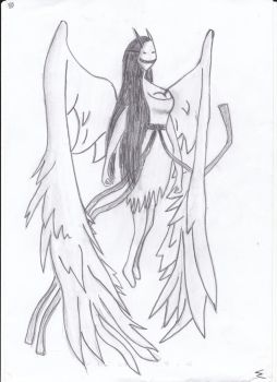 Jane the Angel by ScratchThem