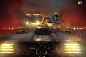 Mad Max Fury Road fanart by Dumaker