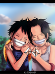 one piece d-brothers by execution97