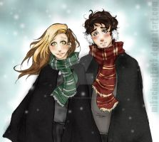 in the snowww by MikachuAttack