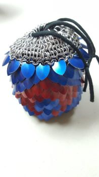 Scalemaille pouch by stormbee321