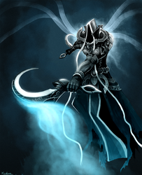 Malthael training by Kordian678