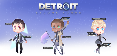 Detroit Become Human by NabakiSan