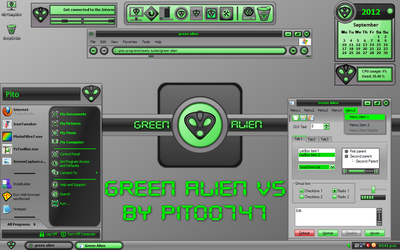 Green Alien for XP by pito0747
