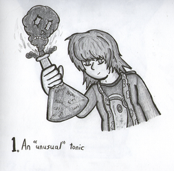 TonicTober Day 01 - An 'Unusual' Tonic by Faulken