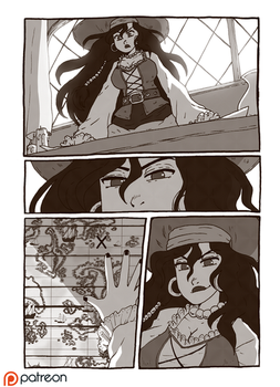 ORIGINAL - Ol' Johns Gold sample page - by BloodyArchimedes