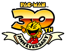 Pac-Man 30th Anniversary logo by RingoStarr39