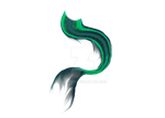 Mermaid Tail Sea Green Png-P2U by AKoukis