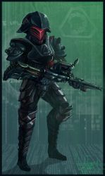 Soldier of Nod by Henskelion