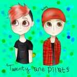 twenty one pilots by haley2237