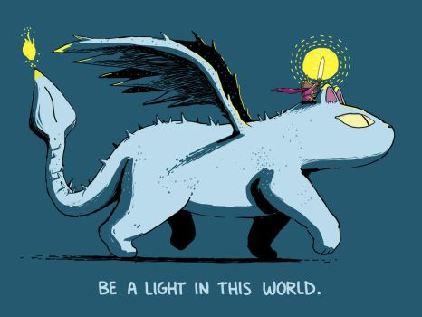 Be A Light Feat. Cat Dragon and Hero Princess Bear by sebreg