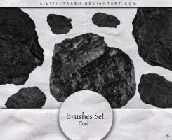 Coal Brushes #16 by LilithDemoness
