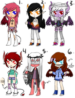 Demons+Angels Adopt(ENDING/REDUCED PRICE) by Tabehoudai