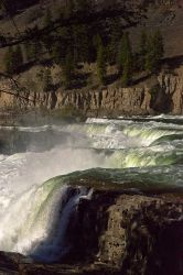 Kootenai Falls at high water by quintmckown