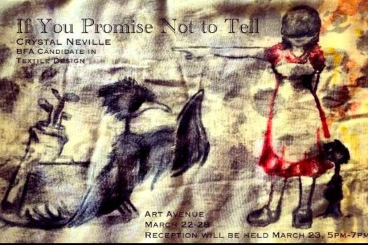 If you promise not to tell poster by jennett07