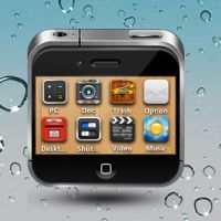 iPhone4s Mini Dock for XWidget by xwidgetsoft