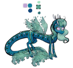 River Pony Mascot Design by Trilled-Llama