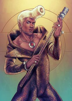 Ruby Rhod - SuperGreen by DocWendigo