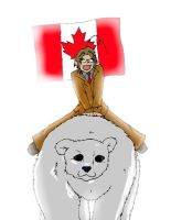 Hetalia : Canada by SaintsSister47