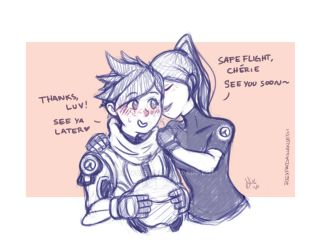 Safe flight .Widowtracer by sexyfairy