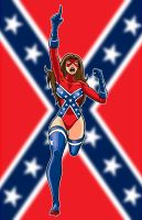 Southern Rebelle by Thuddlesto by War-Patriot