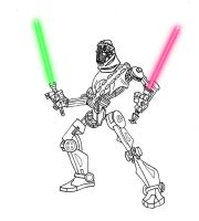 jedi robot by ash marshal by ellie-belly