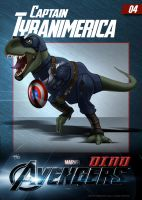 #04 Captain Tyranimerica by DigitalGreen