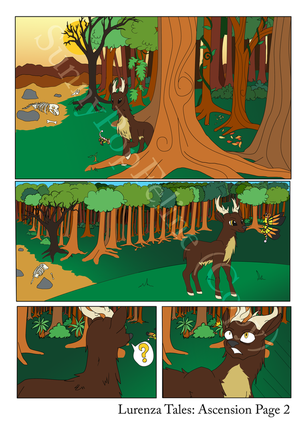 Lurenza tales:ascension page 2 (Flat Colour) by SunnyPopFeline