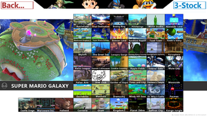 Super Smash Bros. Wii U -Stage Select by ConnorRentz