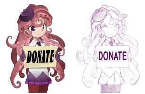 mind to donate her some good by jorama