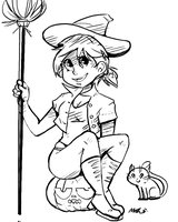 A witch by the name Whicky by PommeButt