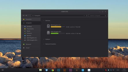 Windows 8 Dark Theme [concept] | PSD INCLUDED by ToRTeEn
