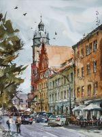 Somewhere in Krakow by PawelGladkow