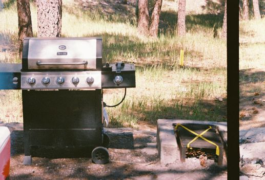 Brother Tom's Propane Grill by Texas1964