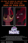 My Little Pony Movie poster (Carrie 1976) by EJLightning007arts