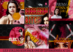 Lily Collins Icon Pack 1 by divergensea