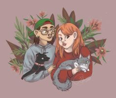 Portrait Commission for Mackenzie by Pascalou