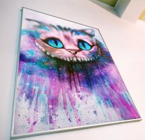 Cheshire Cat by Alexander Deboir by Deboir