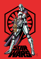 Captain Phasma Retro by DazTibbles