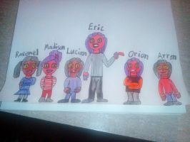 Thrax and Ellecia's Kids by Ellecia