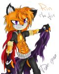 Rin the fox by Dino-tyan