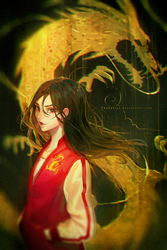 Casual Mulan (+Speedpaint) by TheCecile