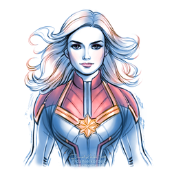 Captain MarveL by daekazu