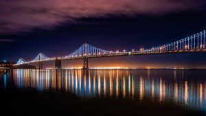 Bay Bridge by SimonVelazquezArt